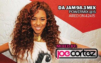 Da Jam 98.3 Power Mix at 6