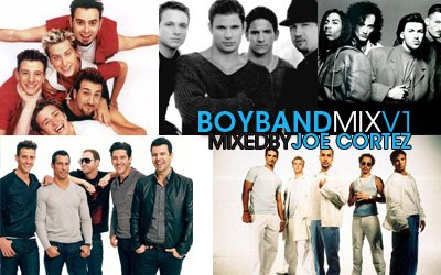 Boy Band Mix Vol. 1 by Joe Cortez