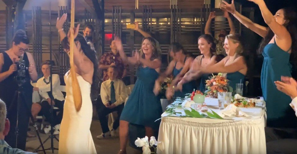 Awesome Disney Inspired Maid Of Honor & Bride Speech/Lip Sync Performance